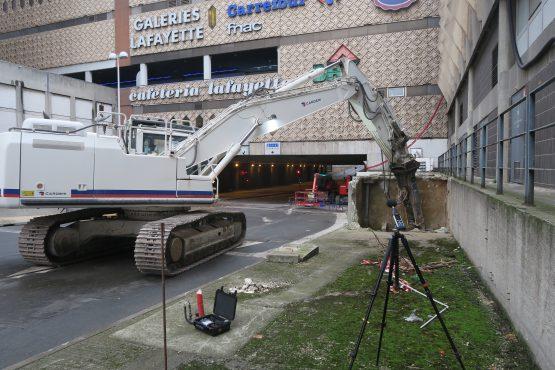 Chantier de d molition parking du centre commercial part dieu pk3000 lasa - Du bruit dans la cuisine part dieu ...